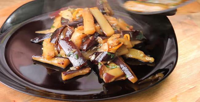 Пошаговые рецепты приготовления баклажан в кисло-сладком соусе