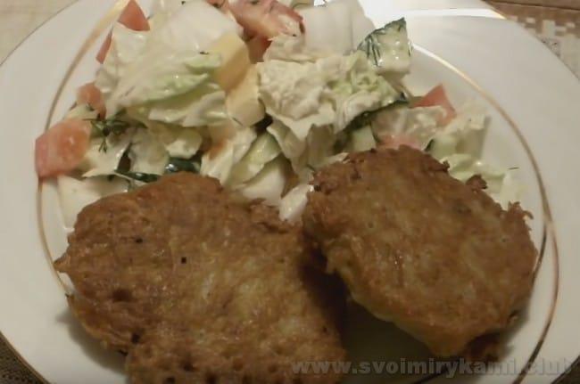 Вот мы и приготовили колдуны с мясом по простому рецепту!