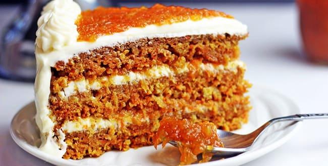 Как приготовить Морковный торт по классическому рецепту со сливочным сыром