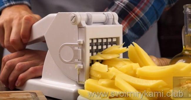 как дома сделать хрустящую картошку фри без фритюрницы
