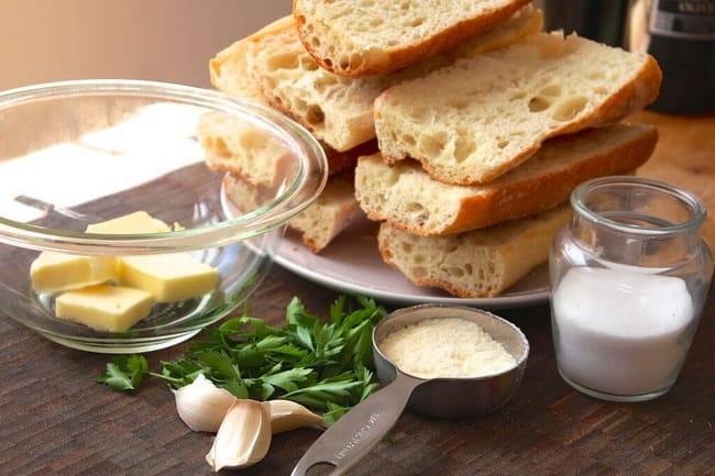 Как испечь чесночный хлеб в духовке по пошаговому рецепту