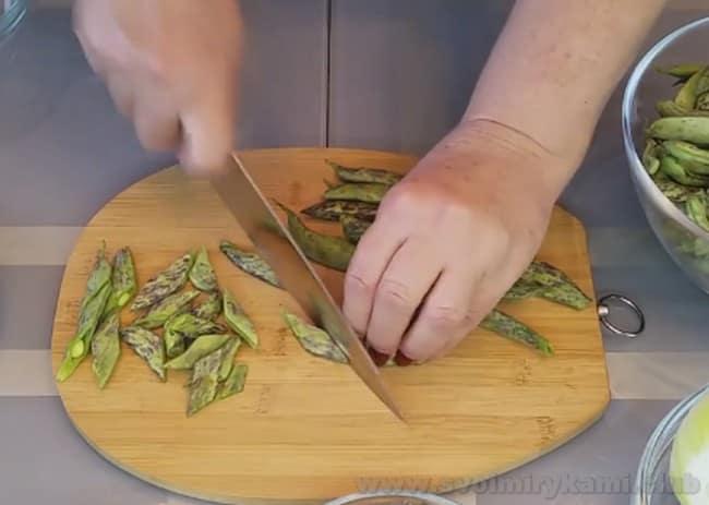Представляем простой рецепт лобио из зеленой стручковой фасоли по грузински.