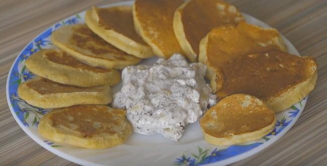 Рецепт приготовления овсяных оладий с фото