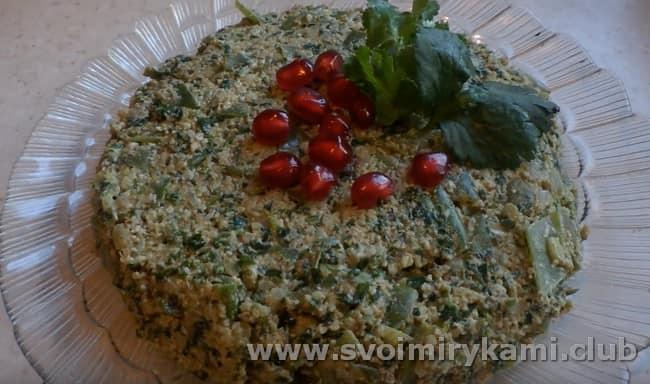 Рецепт пхали из зеленой фасоли по-грузински, как видите, простой и доступный.