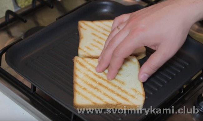 А вот еще один рецепт клаб-сэндвича.