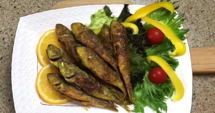 Жареная барабулька черноморская — простой и вкусный рецепт