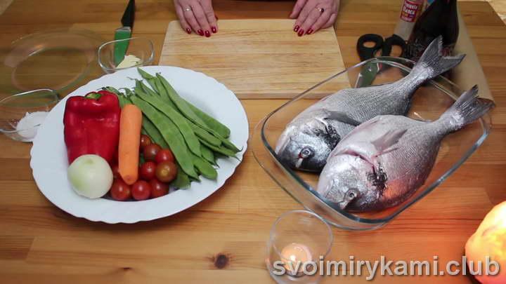 дорадо в духовке рецепт