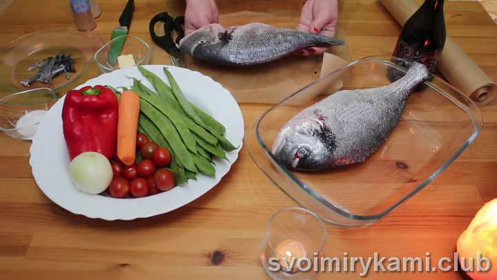 дорадо в духовке рецепты
