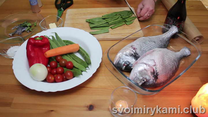 дорадо в духовке рецепты с фото