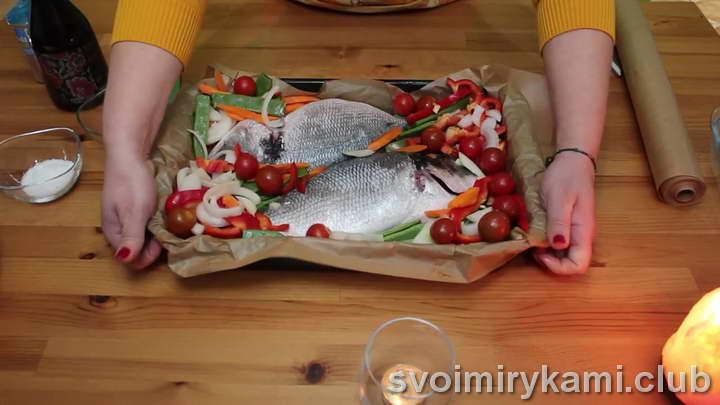 дорадо в духовке рецепт пошаговый