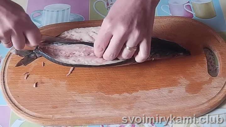 фаршированная скумбрия пошаговый рецепт