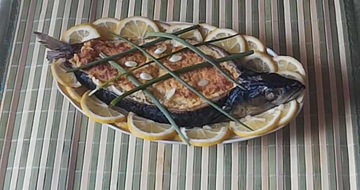 Фаршированная скумбрия — оригинальный рецепт