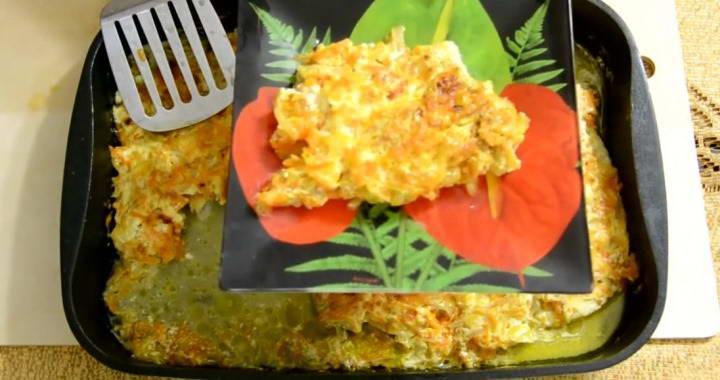 Рецепт приготовления очень вкусного филе минтая в духовке