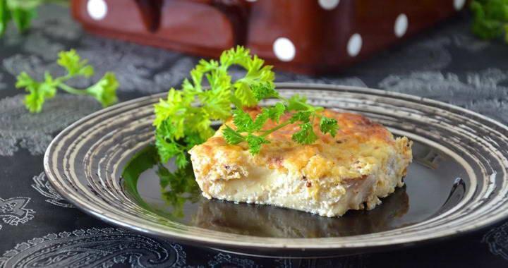 Рецепт приготовления филе трески с сыром в духовке