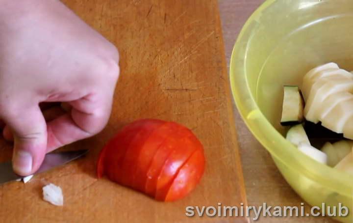 форель с картошкой в фольге