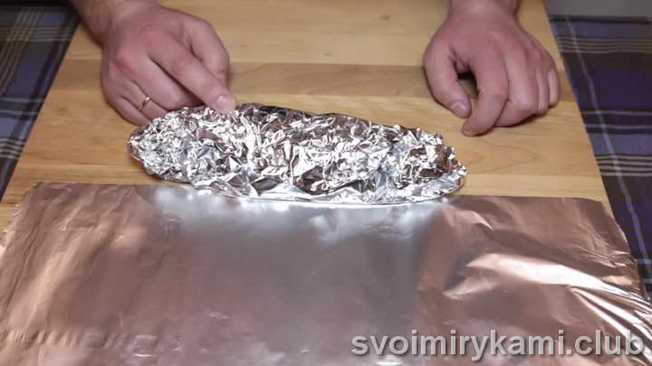 форель в фольге в духовке рецепт с соусом