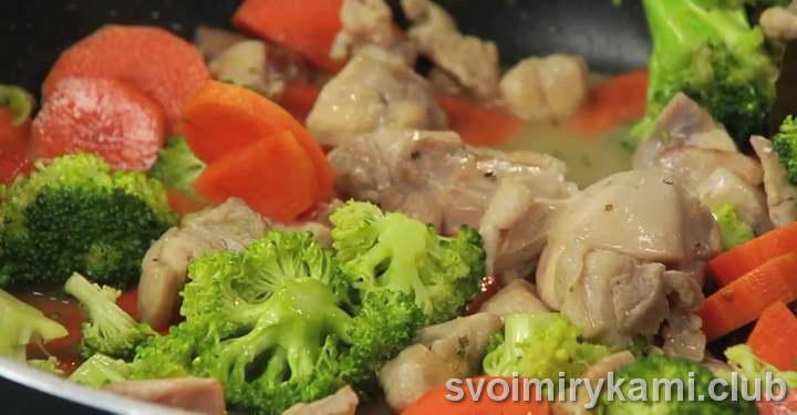 фрикасе из кролика как готовить