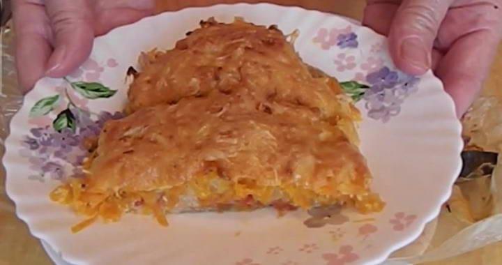 Вкусная горбуша, запеченная с помидорами и сыром в духовке🐟