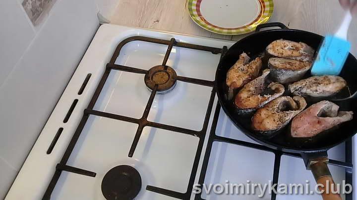 горбуша тушеная легкий рецепт с фото