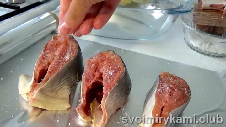 горбуша в духовке с картошкой в фольге рецепт с фото
