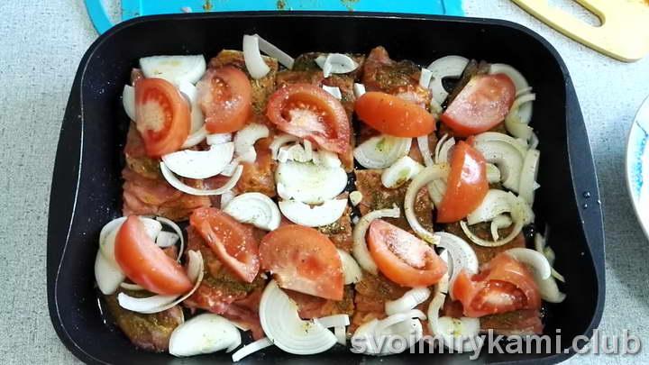 горбуша в сметане в духовке простые рецепты с фото