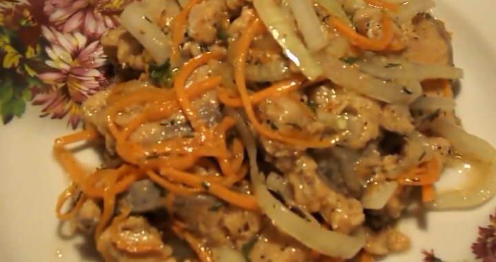 Хе из горбуши — простое, недорогое и вкусное блюдо