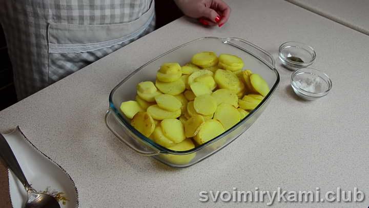 карась в сметане в духовке рецепт с овощами