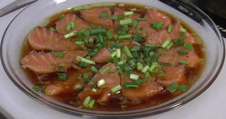 Карпаччо из лосося — очень вкусная холодная закуска