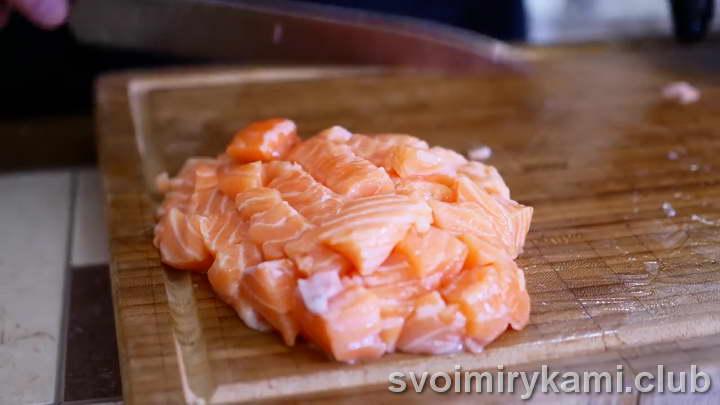киш с лососем как готовить рецепт