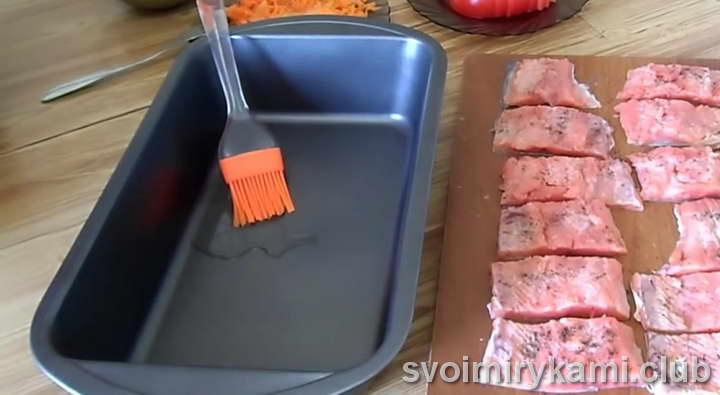 красная рыба в духовке быстрый рецепт