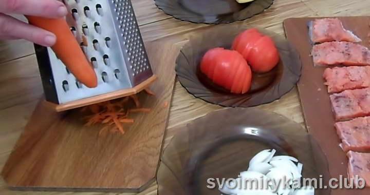 красная рыба в духовке простой рецепт с фото