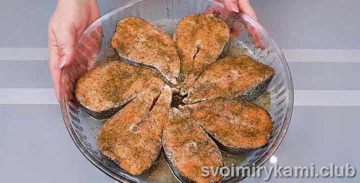 лосось в духовке рецепты