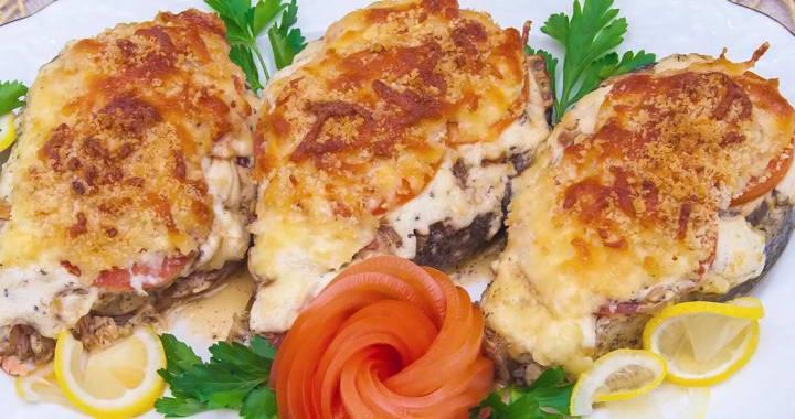 Лосось в сливочном соусе по-итальянски, запеченный в духовке — вкусный рецепт горячего блюда