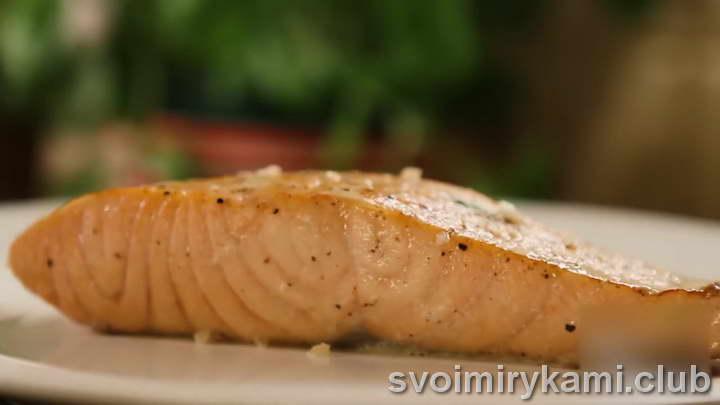 лосось в сливочном соусе в духовке