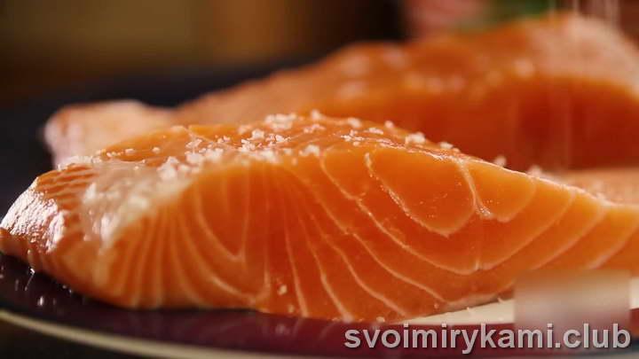 лосось в сливочном соусе как вкусно приготовить