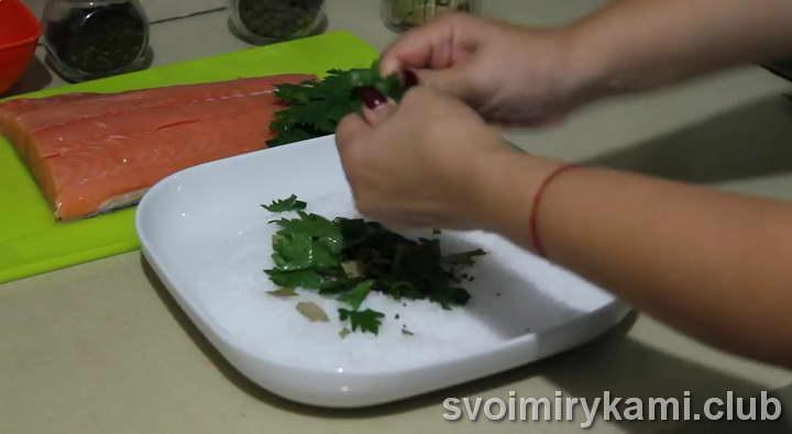 маринованная горбуша простой рецепт