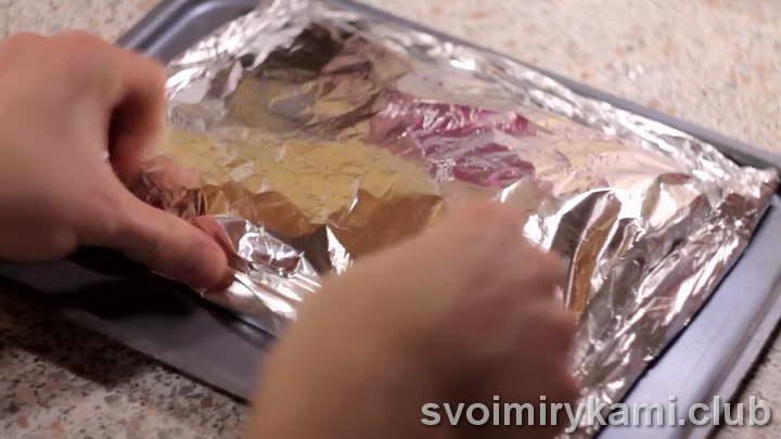 минтай в фольге в духовке пошаговые рецепты рецепт с фото