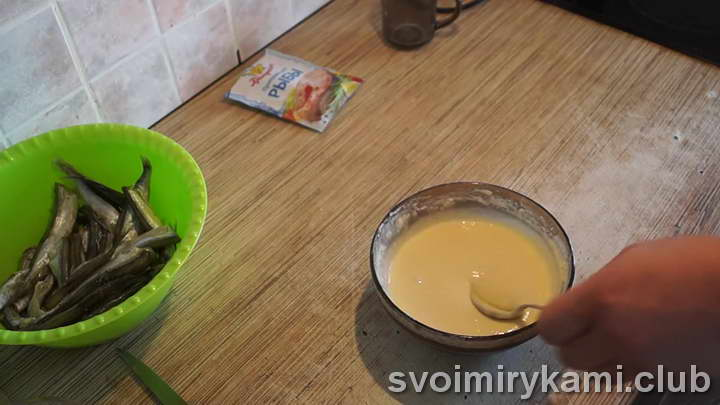 мойва в кляре легкий рецепт с фото