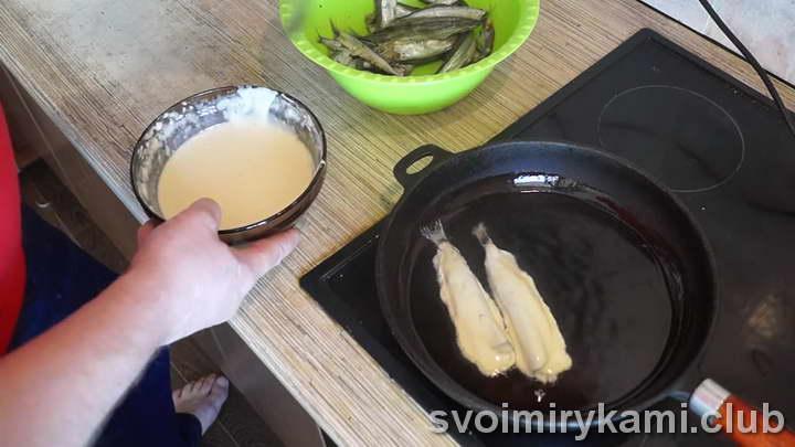 мойва в кляре рецепт приготовления