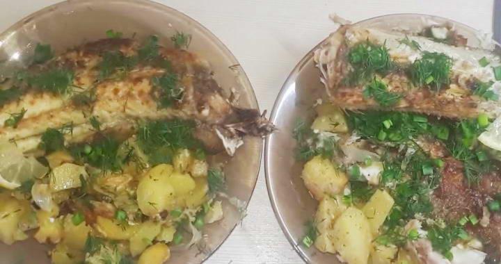 Рецепт приготовления нежного налима, запеченного в духовке