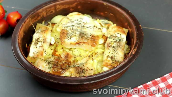 пангасиус в духовке рецепт с соусом