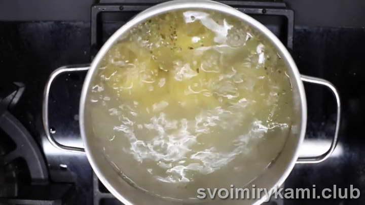 паста с лососем