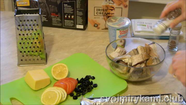 пикша в духовке рецепты с фото