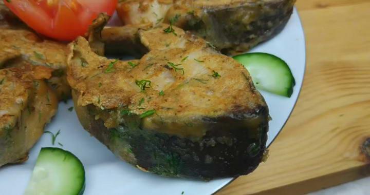 Рецепт сочной горбуши, жареной на сковороде без масла