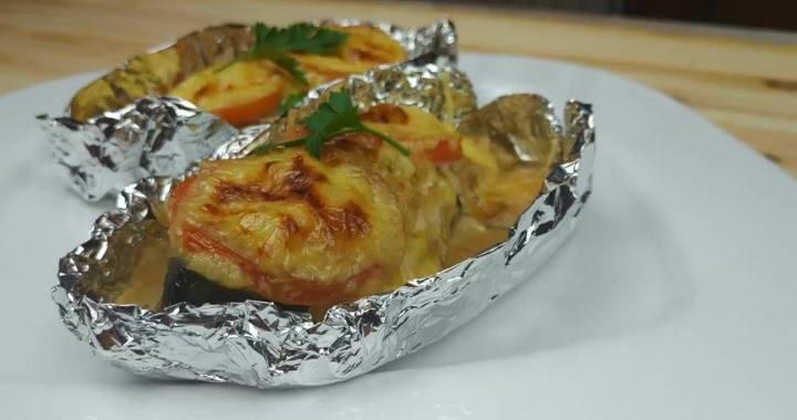 Тающая во рту горбуша, запеченной в духовке в фольге — рецепт приготовления в кефирном маринаде