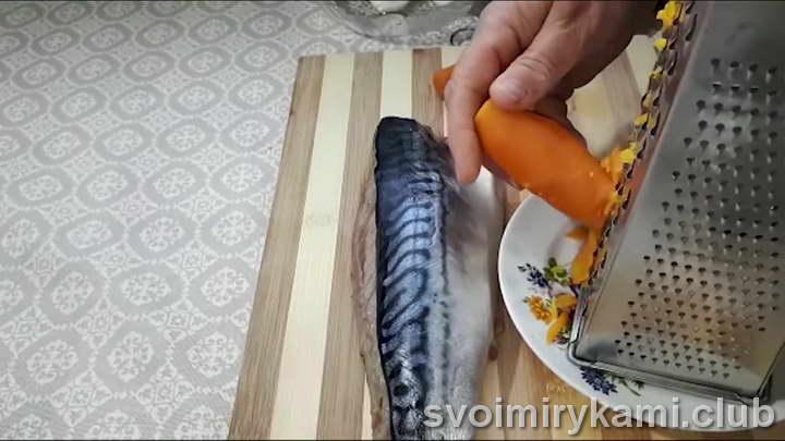 рулет из скумбрии рецепты с фото