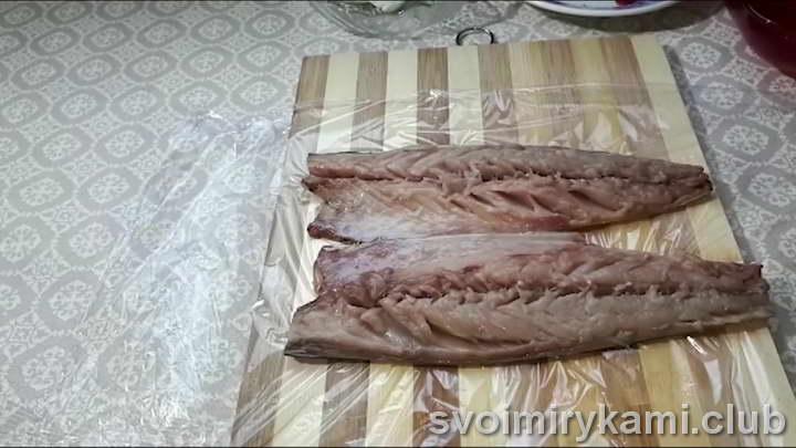 рулет из скумбрии простой рецепт