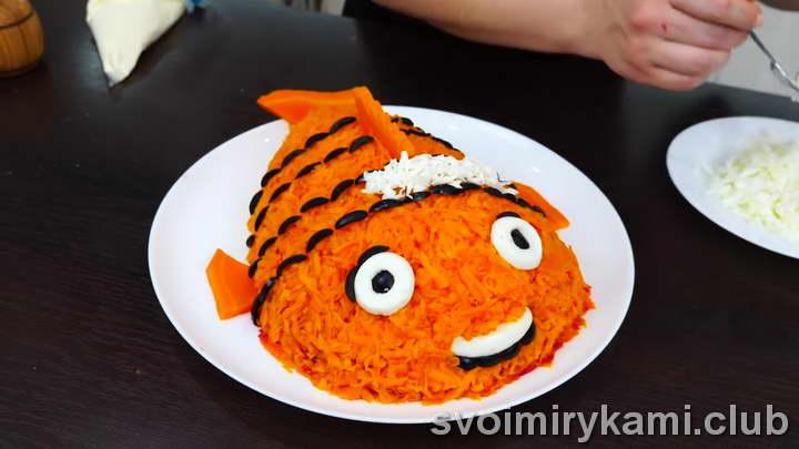 рыба под шубой сколько готовится