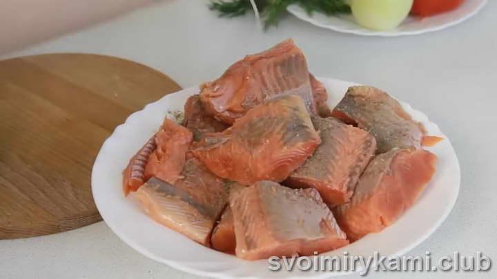 рыба под шубой в духовке рецепт