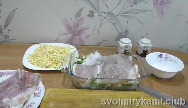 рыба с рисом в духовке как приготовить дома